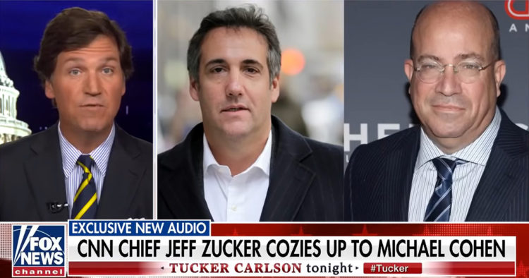 Tucker Carlson Releases Stunning Audio Of CNN's Jeff Zucker And Michael Cohen; Hints More Coming On Chris Cuomo